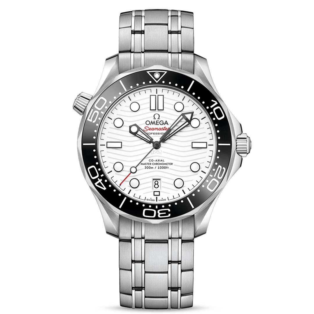 OMEGA SEAMASTER DIVER 300M CO‑AXIAL MASTER CHRONOMETER 42 MM 210.30.42.20.04.001 Thép không gỉ - Steel on steel