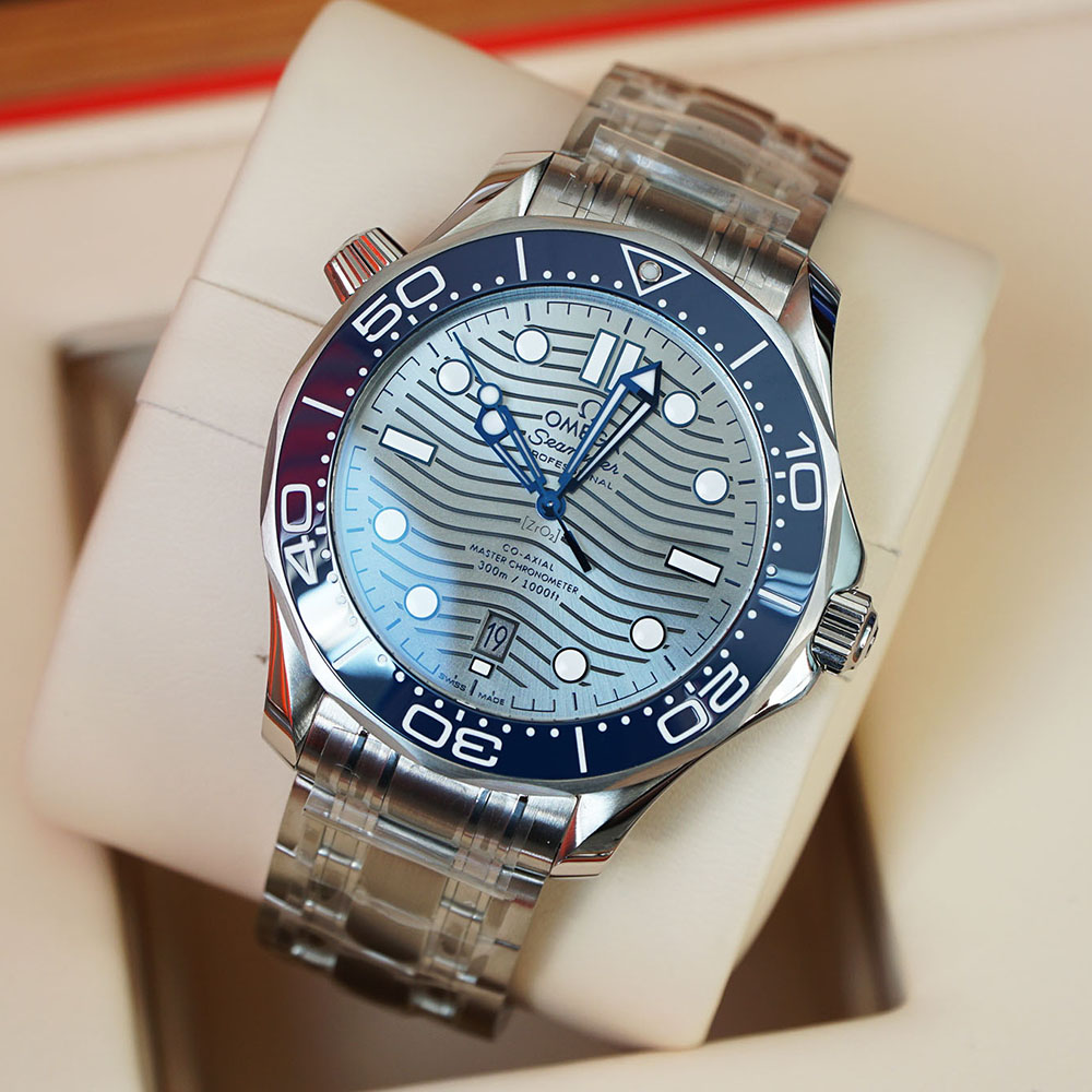 OMEGA SEAMASTER DIVER 300M CO‑AXIAL MASTER CHRONOMETER 42 MM 210.30.42.20.06.001 Thép không gỉ - Steel on steel