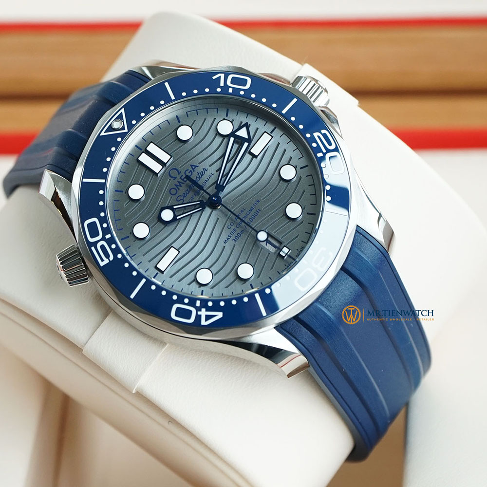 OMEGA SEAMASTER DIVER 300M CO‑AXIAL MASTER CHRONOMETER 42 MM 210.32.42.20.06.001 Thép không gỉ - Steel on Steel
