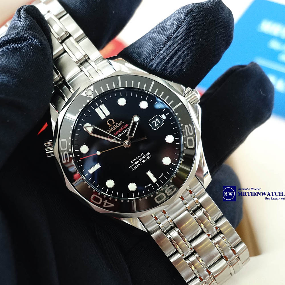OMEGA SEAMASTER DIVER 300M CO‑AXIAL 41 MM 212.30.41.20.01.003 Thép không gỉ - Steel on Steel