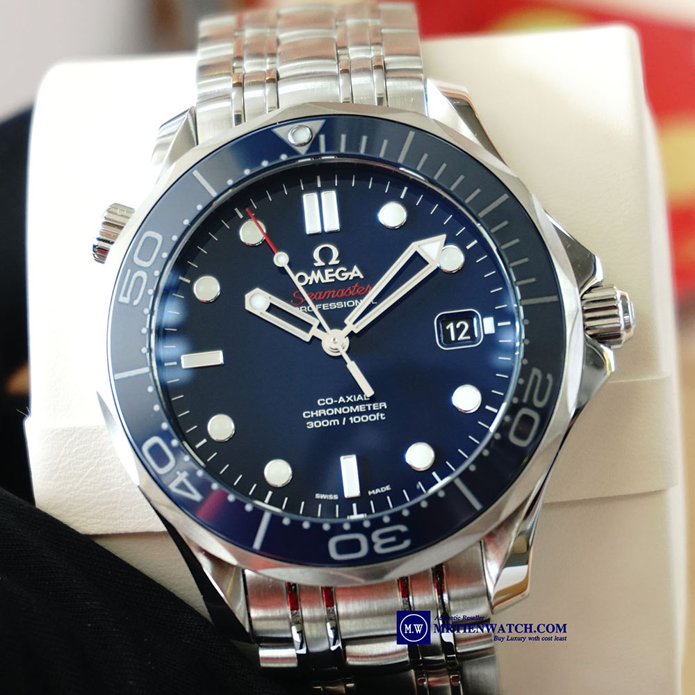 OMEGA SEAMASTER DIVER 300M CO‑AXIAL 41 MM 212.30.41.20.03.001 Thép không gỉ - Steel on Steel