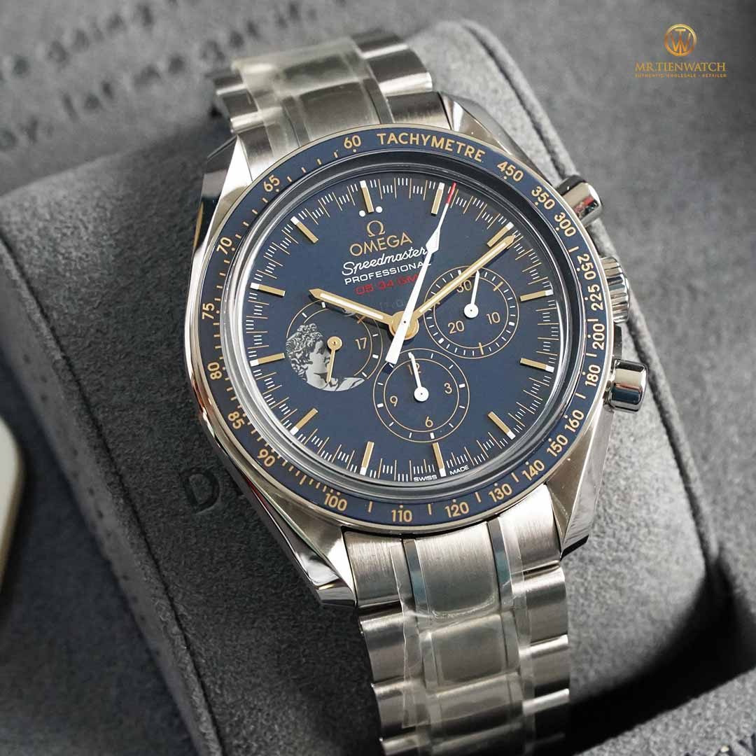 OMEGA SPEEDMASTER MOONWATCH ANNIVERSARY LIMITED SERIES 42 MM 311.30.42.30.03.001 Limited 1972 pieces - Steel on steel