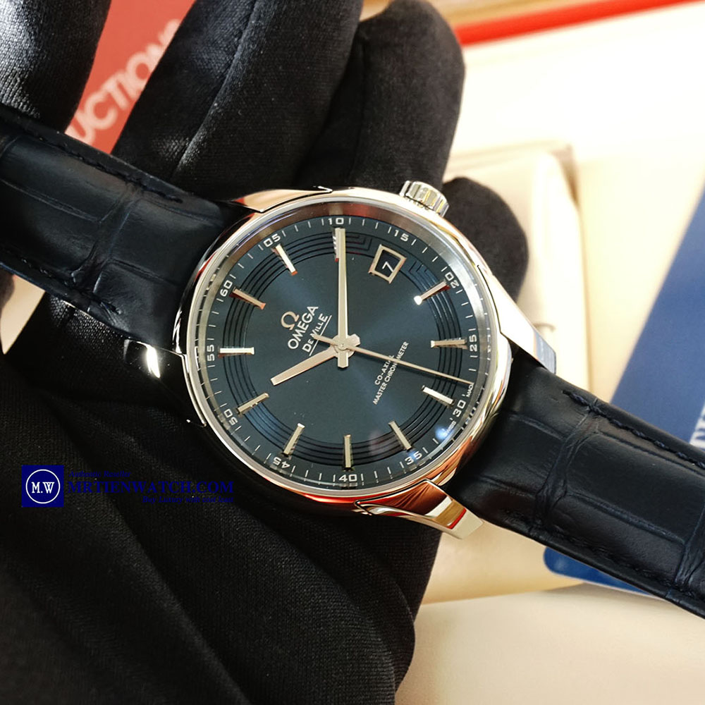 OMEGA DE-VILLE HOUR VISION CO‑AXIAL MASTER CHRONOMETER 41 MM 433.33.41.21.03.001 Thép không gỉ - Steel on Steel
