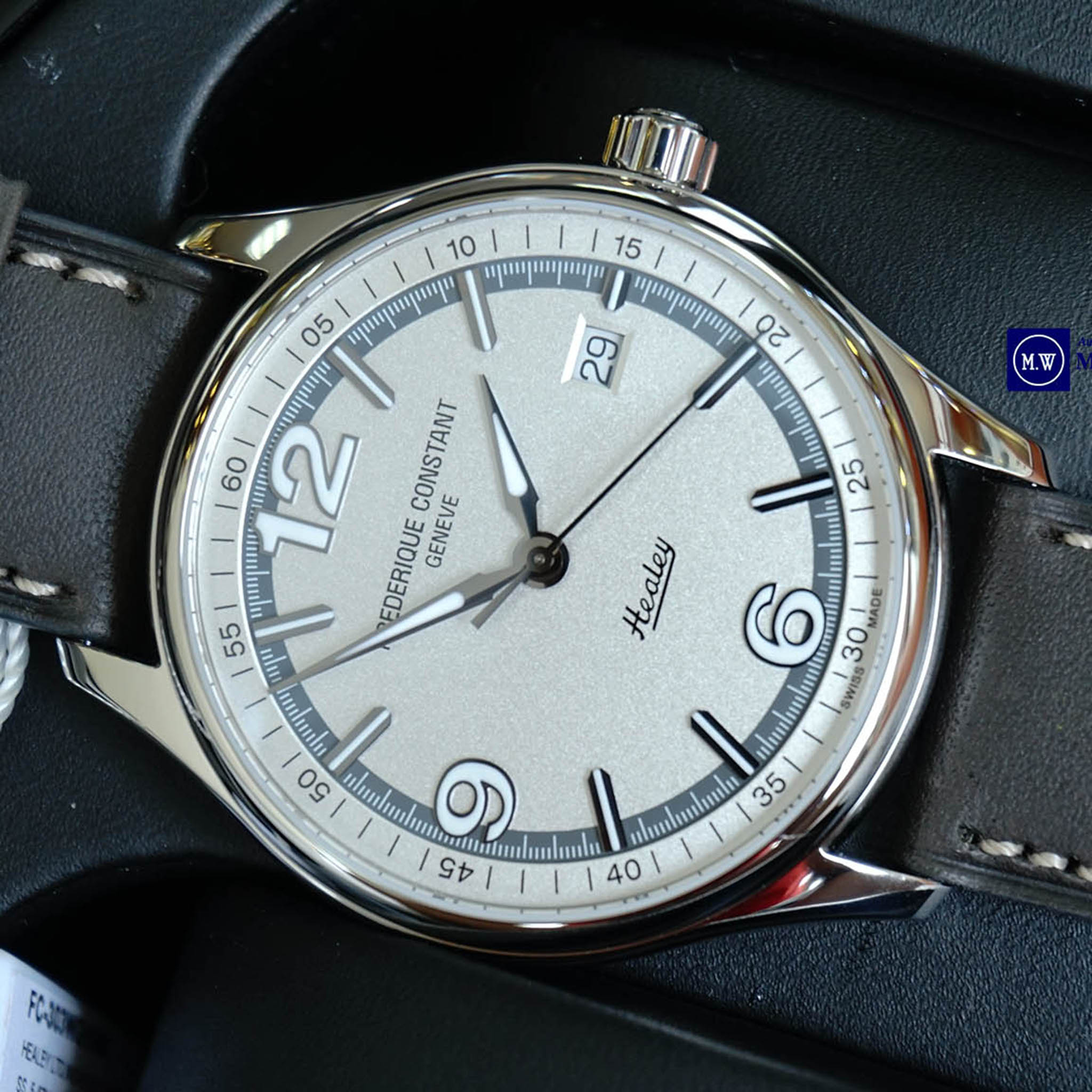 FREDERIQUE CONSTANT VINTAGE RALLY HEALEY LIMITED 2888 SWISS AUTOMATIC FC-303WGH5B6 - Thép không gỉ cao cấp