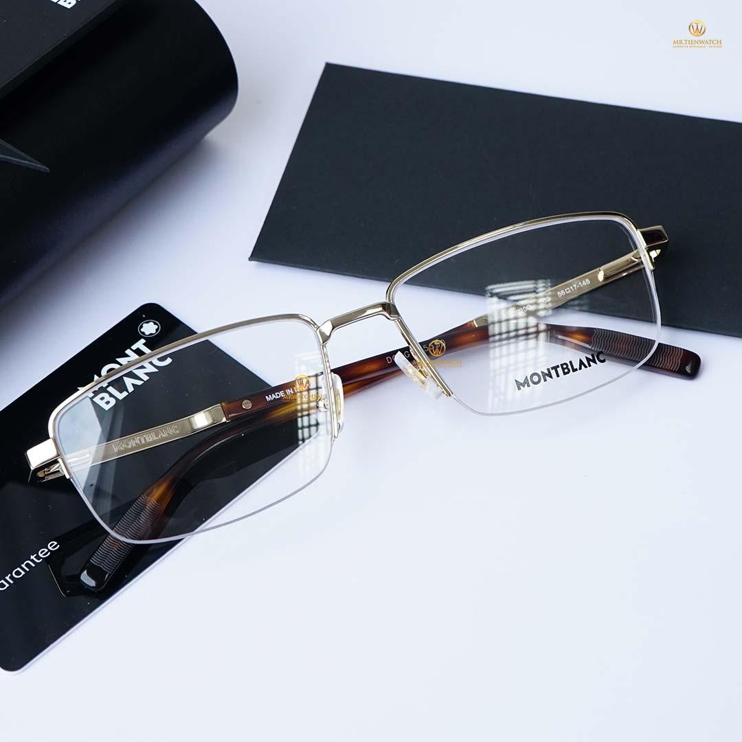 Gọng kính mắt MB0020O-003 size 56 mm Optical Frame chính hãng