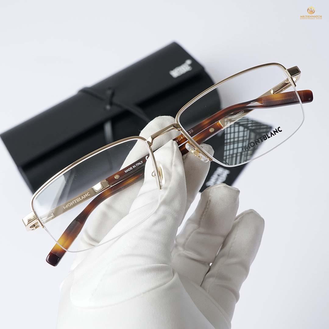Gọng kính mắt MB0020O-006 size 58 mm Optical Frame chính hãng