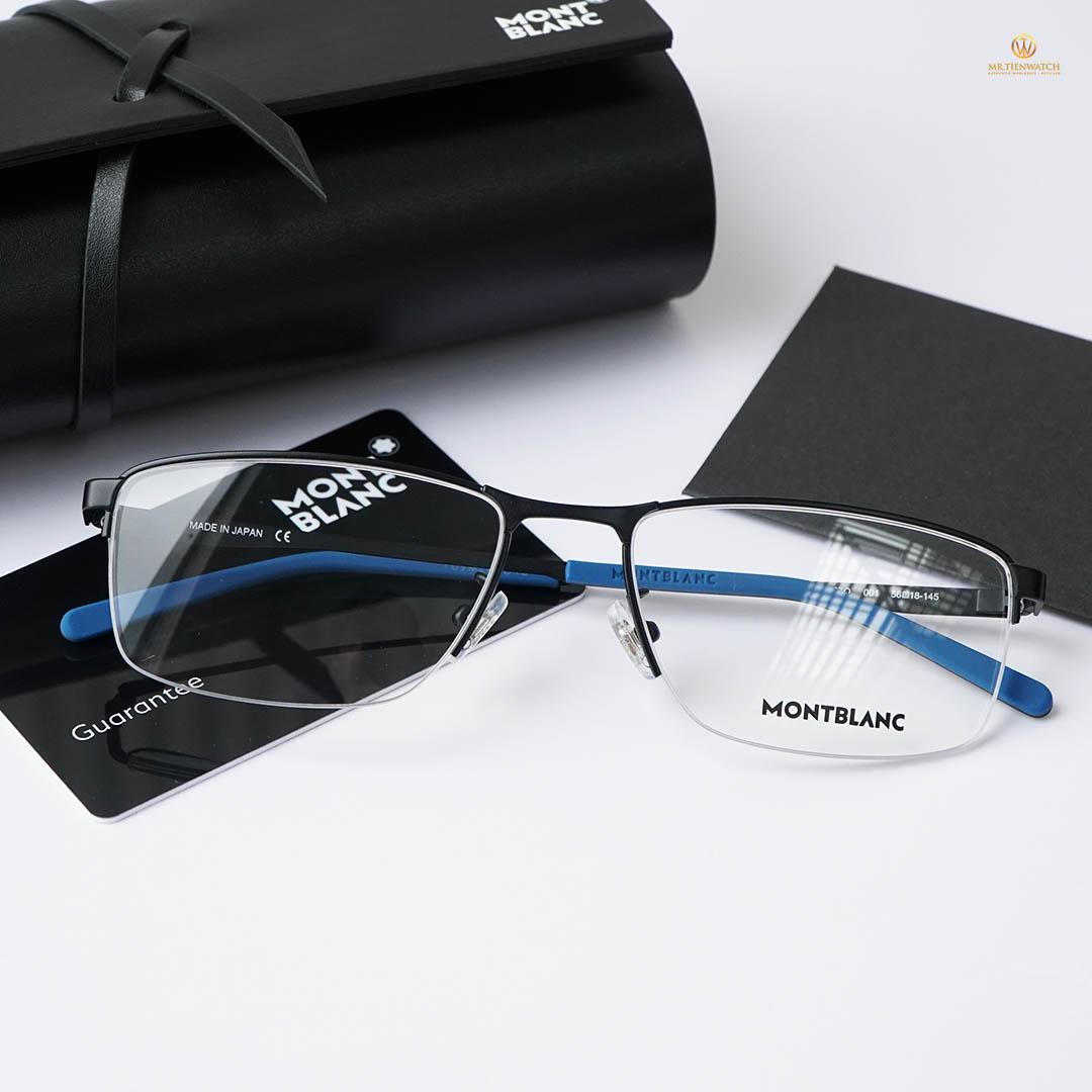 Gọng kính mắt MB0107O-001 size 56 mm Optical Frame chính hãng