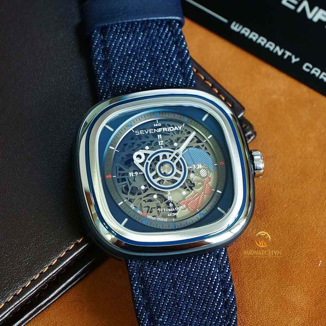 SEVENFRIDAY COCORICO T1/01 Limited edition of 450 pieces - Check NFC Phần Mềm Chính Hãng