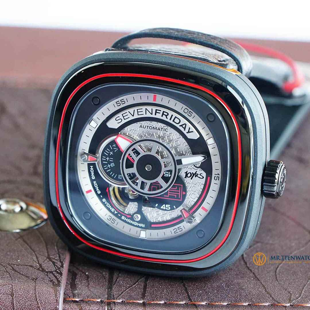SEVENFRIDAY MAD 10 YEARS LIMITED EDITION P1B/10 Limited 128 pieces - Check NFC Phần Mềm Chính Hãng