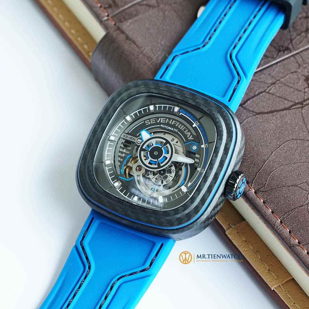 SEVENFRIDAY S-SERIES CARBON EDITION S3/02 Limited 777 Pieces - Check NFC phần mềm chính hãng